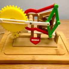 Picture of print of Marblevator, Mechanisms.