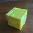 Puzzle Cube print image
