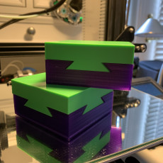 Picture of print of Locking Dovetail Puzzle Box