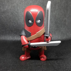 Picture of print of Mini Deadpool