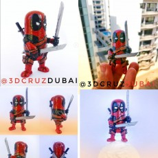 Picture of print of Mini Deadpool This print has been uploaded by Brendon DCruz