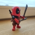 Mini Deadpool print image