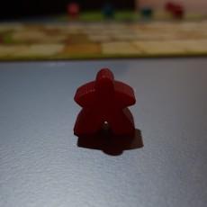 Carcassonne Game Figurine