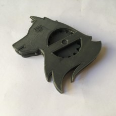 Picture of print of Wolf-Gear KeyChain