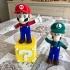 Mario from Mario games - Multi-color print image