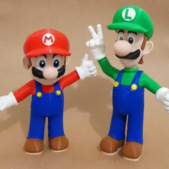 Mario from Mario games - Multi-color