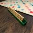 Scrabble tile holder image