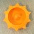 Sun Incense Holder image
