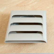 xhaust air pipe cover (inner diameter of the pipe = 100 mm)