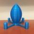 Rocket Ship Finger Hat image
