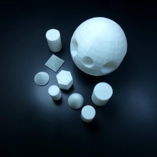 Picture of print of The puzzle ball