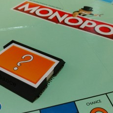 Monopoly Chance Card Holder