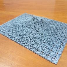 Picture of print of Mount Vesuvius Puzzle