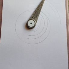 Picture of print of Drafting compasses