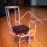 constructions with straws/ Construcciones con pajitas image