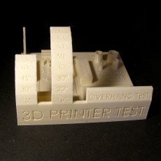 Picture of print of All In One 3D printer test Cet objet imprimé a été téléchargé par Vaclav Krmela