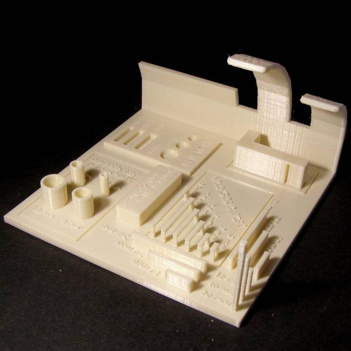 All In One 3D printer test