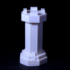 Picture of print of Chess Rook #BOARDGAMES3D