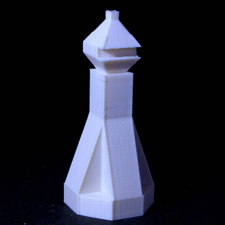 Chess bishop #BOARDGAMED3D