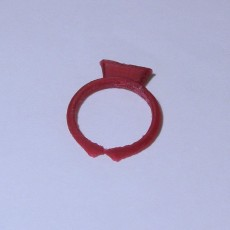 Picture of print of Princess Diamond Ring