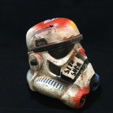 Picture of print of Stormtrooper Helmet This print has been uploaded by Mark Brown