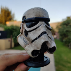 Picture of print of Stormtrooper Helmet This print has been uploaded by aron 3D