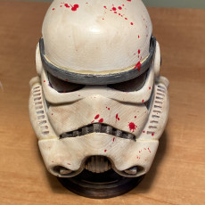 Picture of print of Stormtrooper Helmet This print has been uploaded by Eric Gann