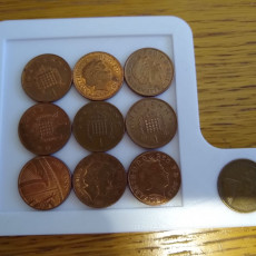 Picture of print of 10 Penny Puzzle