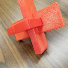 Picture of print of Cross Keys Puzzle