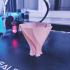 Unfolding Leave Vase print image