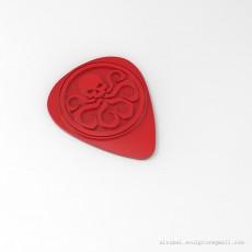 Hydra guitar pick