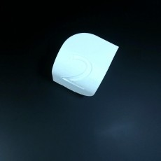 Picture of print of d3 Dice; A three sided die!
