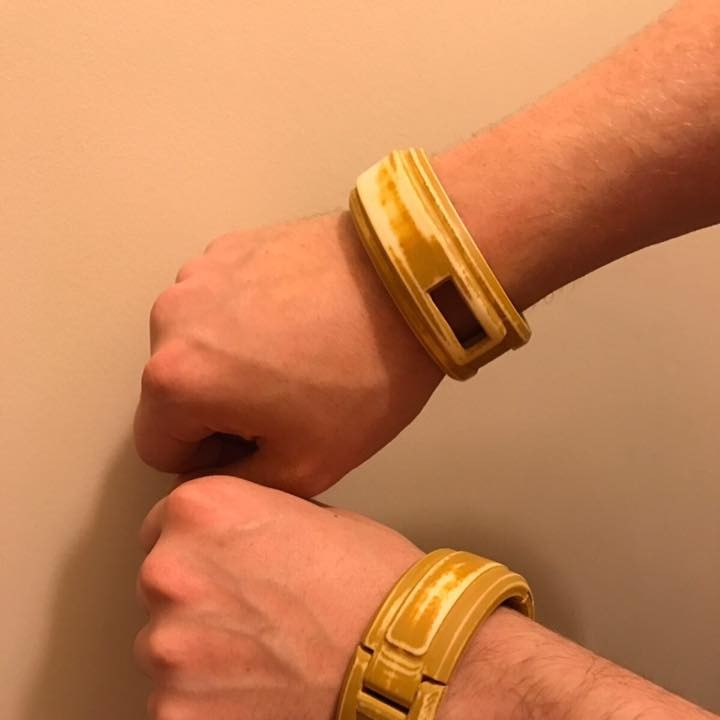 Cosplay - Hinged Bracelet