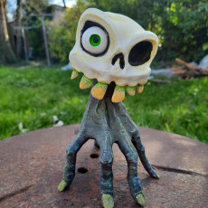 """Picture of print of """"MediEvil 2""""  Sir Daniel Fortesque"""