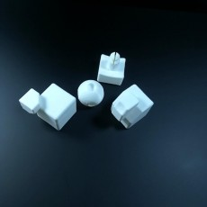 Picture of print of rubiks cube
