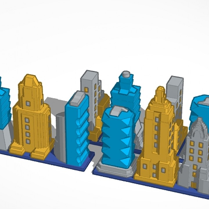 picture about Printable Buildings named 3D Printable highway 8 - structures monopoly by way of Moe Zarrella