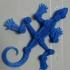 Articulated lizard image