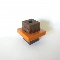 Rectangular box In a square