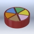 Trivial Pursuit - Playing Piece and Wedges image