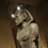 Praying statue of king Amenembet III image