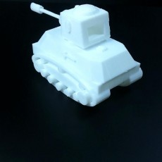 Picture of print of Risk Addon: Red Tank