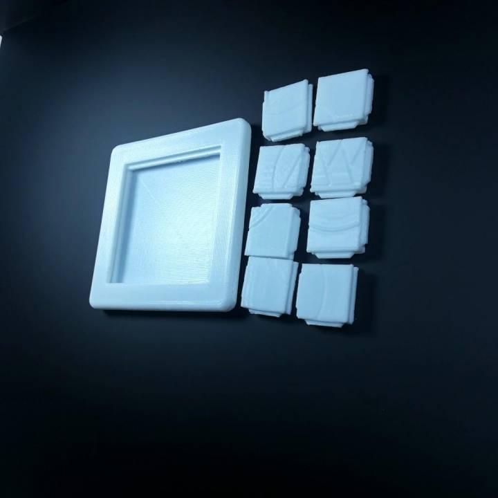 3DPuzzle-SlidingPuzzle_MakeAnything