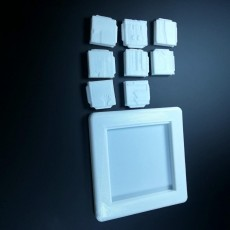 Picture of print of 3DPuzzles-Sliding_Puzzle-minifactory