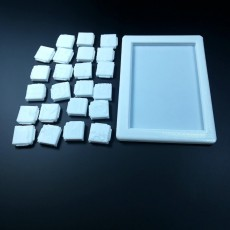 Picture of print of 3DPuzzles-Sliding_puzzle-World_6x4