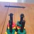 Baby Toy Puzzle print image