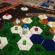 Picture of print of Terraforming Mars Base Cities