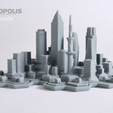 Metropolis 3d Puzzle
