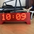 ESP8266 Scrolling Marque Clock print image