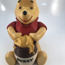 Picture of print of Winnie the Pooh - Smooth