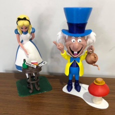 Picture of print of Mad Hatter - base